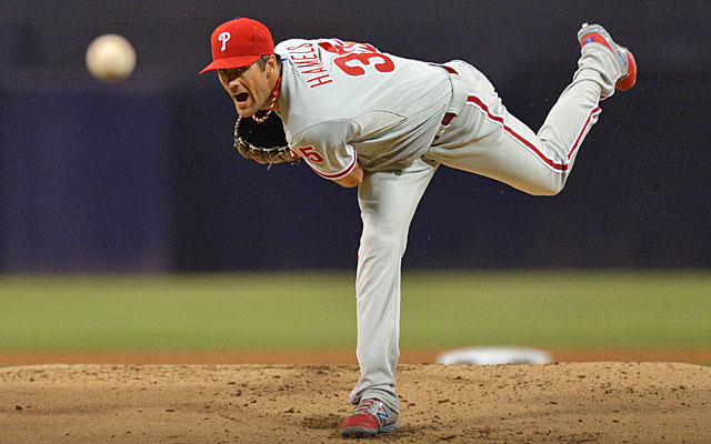 The Phillies apparently want to keep Cole Hamels, but they might be better off trading him. (USATSI)