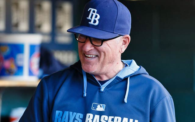 Joe Maddon, a two-time Manager of the Year, led the Rays to the World Series in 2008. (USATSI)