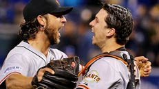 Bumgarner wins World Series MVP