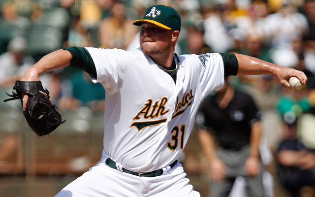The defending champion Giants are making their move to sign free agent Jon Lester. (USATSI)