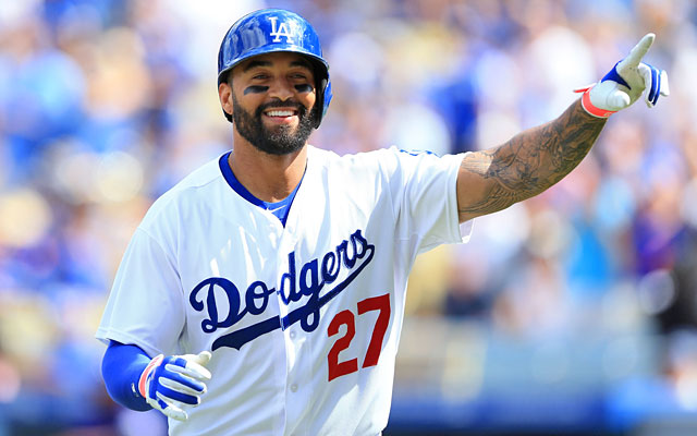 Moving Matt Kemp, due $107 million through 2019, would fit the Dodgers' cost-cutting plans. (Getty Images)