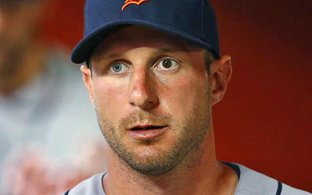 Max Scherzer is apparently hearing pro-St. Louis pitches from Cardinals players. (USATSI)