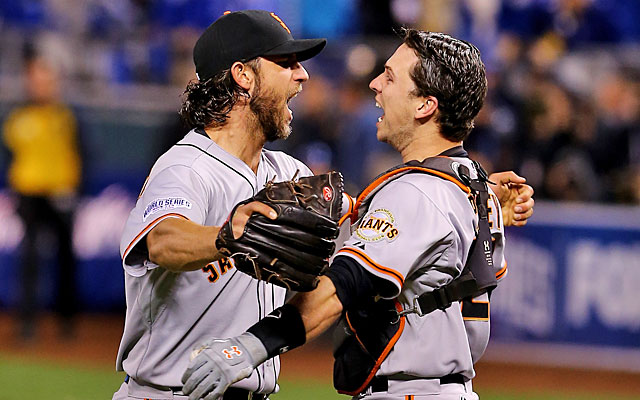 Even with Madison Bumgarner and Buster Posey, the champion Giants have questions. (Getty Images)