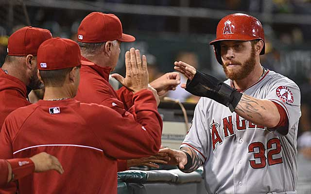 Angels outfielder Josh Hamilton admitted to a relapse involving cocaine. (USATSI)