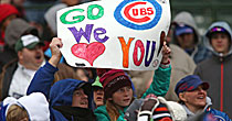 Cubs fans (USATSI)