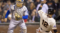LIVE: Dodgers-Giants