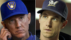 Brewers fire manager Roenicke