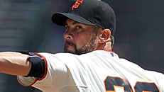 Giants blank Padres