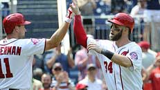 Harper hits 3 HRs in Nats win