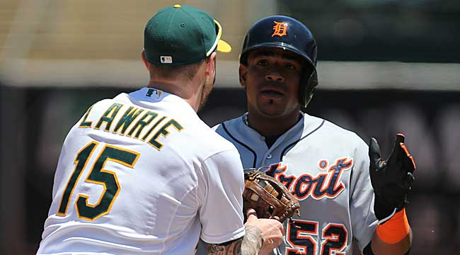 Live: Cespedes' home run has Tigers ahead