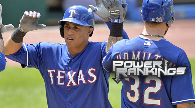 Power Rankings: Rangers on rise, but contenders?