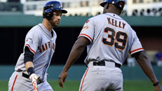 Live: Giants-Rangers
