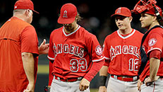 Angels lose C.J. Wilson