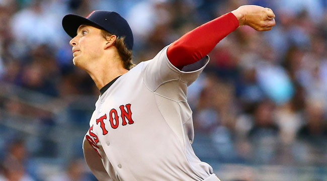 Live: Red Sox rookie Owens solid in debut