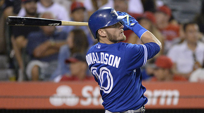 AL MVP Watch: Donaldson against Trout