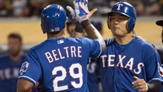Rangers clinch AL West