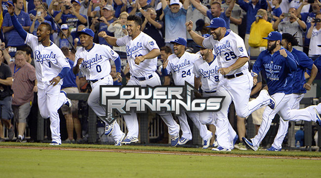 MLB Power Rankings: Are Royals baseball's best?