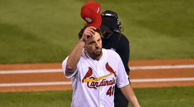Lackey leads Cardinals to Game 1 win over Cubs