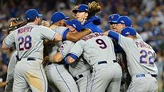 Mets beat Dodgers in five