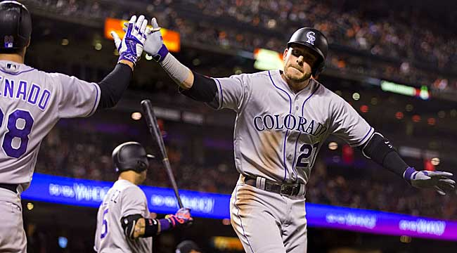 LIVE: Rockies-Giants