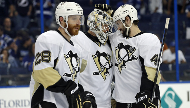 Penguins tie East finals