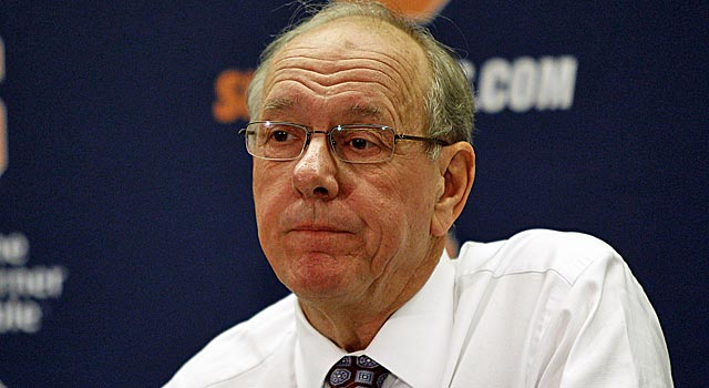 A contrite Jim Boeheim apologizes for his comments regarding the Bernie Fine scandal. (US Presswire)
