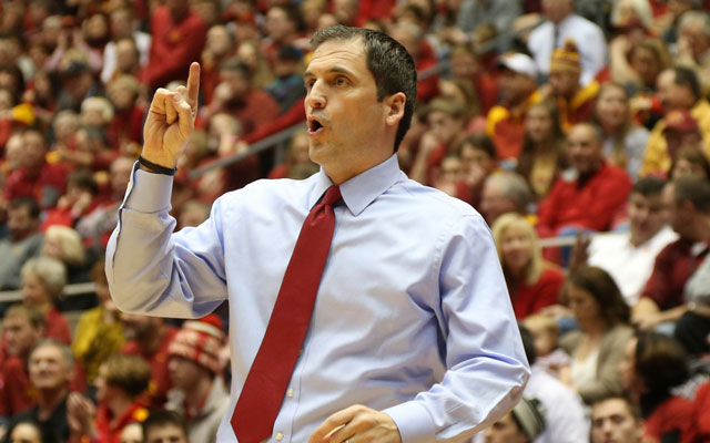 Iowa State coach Steve Prohm earned some respect by beating No. 1 Oklahoma. (USATSI)