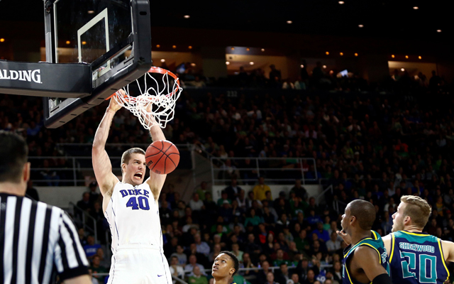 WATCH: Dunkfest by Marshall Plumlee leads Duke to first ...