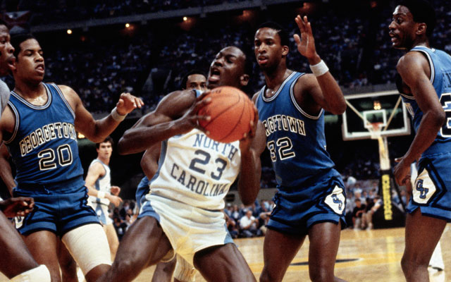 4b26c878a684 His Airness graced the floor the last time UNC faced Indiana in the tourney .(