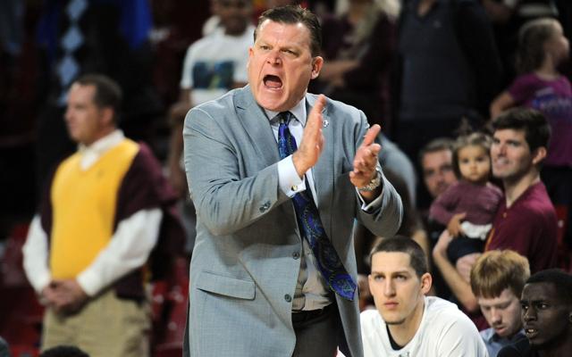 Stephen F. Austin coach Brad Underwood is headed to Oklahoma State. (USATSI)