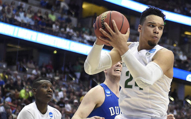 Oregon's Dillon Brooks didn't make many friends vs. Duke. (USATSI)