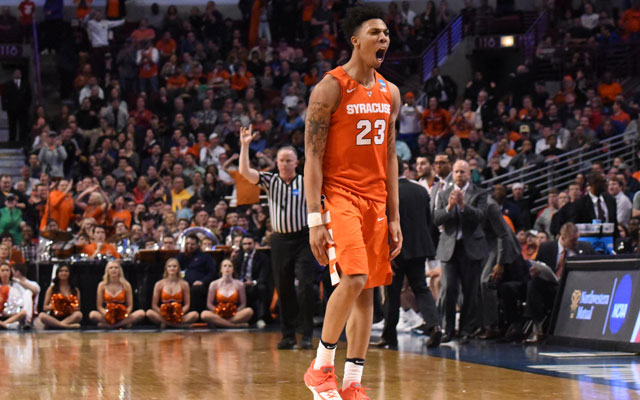 Syracuse shocked Virginia to become the first No.10 seed to reach the Final Four. (USATSI)