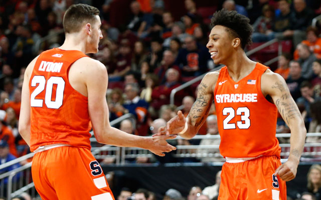 Observations Syracuse S Freshman Duo Integral To Final Four Run