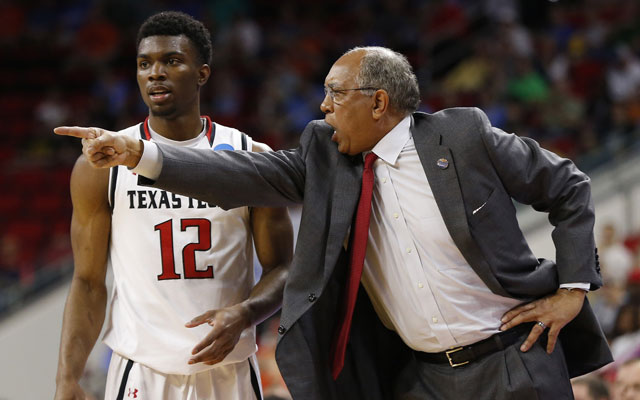 Texas Tech coach Tubby Smith has emerged as a candidate for the opening at Memphis. (USATSI)
