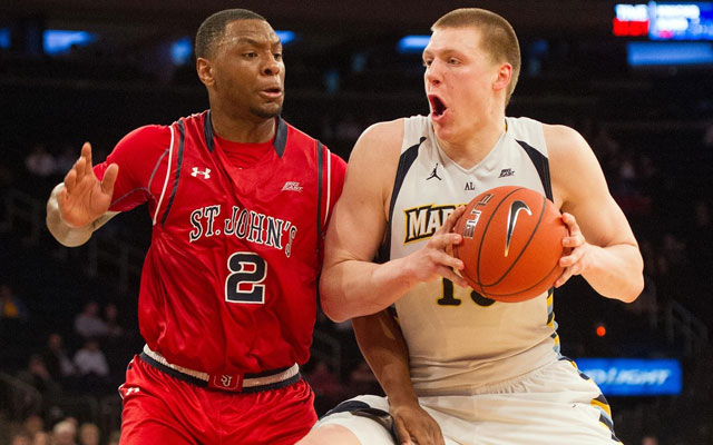 Marquette's Henry Ellenson cracks the top 10 of the latest mock draft. (USATSI)
