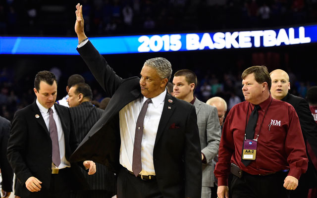 Marvin Menzies left New Mexico State to become the head coach at UNLV.(USATSI)