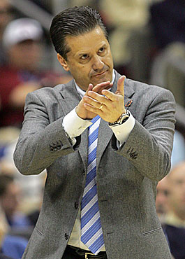 John Calipari will prove himself worthy of Kentucky fans' applause. (Getty Images)