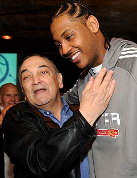 Will Sonny Vaccaro -- pictured with Carmelo Anthony -- be as effective as before? That's debatable. (Getty Images)