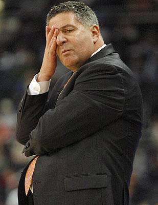 Bruce Pearl faces an uncertain future with an NCAA decision hanging. (US Presswire)
