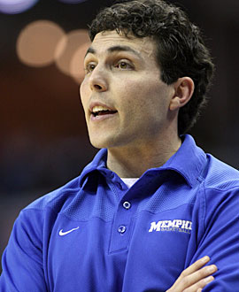 Josh Pastner is building a solid core and might add a McDonald's All-American from Memphis. (US Presswire)