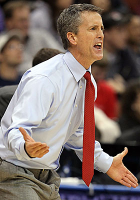 Steve Donahue and the Eagles will take on Indiana on Wednesday. (Getty Images)