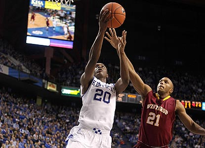 Doron Lamb scores 32 to break the Kentucky freshman record previously held by Jamal Mashburn. (Getty Images)