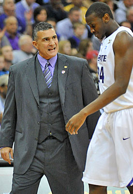 Frank Martin would probably rather have Curtis Kelly not take any gifts. (US Presswire)