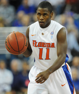 Erving Walker is leading the Gators with 14.4 PPG. (Getty Images)