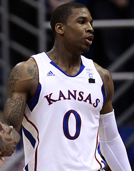 Thomas Robinson is in D.C. after his mother Lisa died at age 37. (AP)