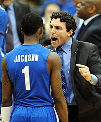 Memphis coach Josh Pastner predicts a bright future for Joe Jackson, yet is reluctant to let him play in clutch situations. (US Presswire)