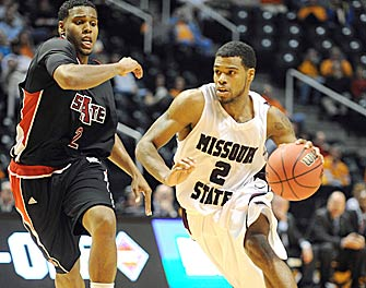 Nafis Ricks took alternates paths to get to Division I. Now he's trying to help Missouri State find its way back to the NCAAs. (US Presswire)