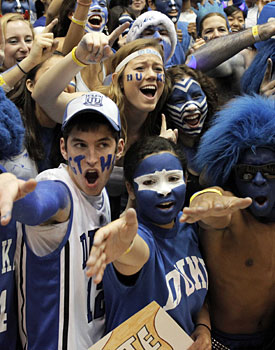 We are all Cameron Crazies on Wednesday night against Clemson. (US Presswire)
