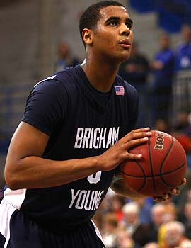 It's true BYU missed its top rebounder Brandon Davies vs. New Mexico, but it's not as bad as the score suggested. (US Presswire)