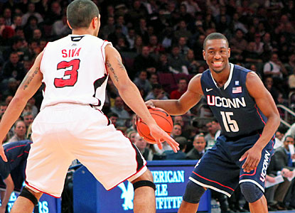 Kemba Walker scores 19 points to lead the Huskies to the Big East title and takes home MVP honors. (US Presswire)